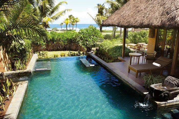 villa vue océan avec piscine (1 chambre)