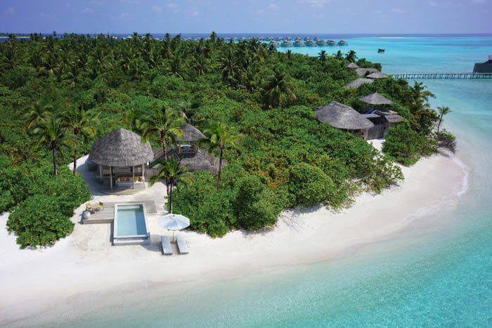 villa plage océan avec piscine