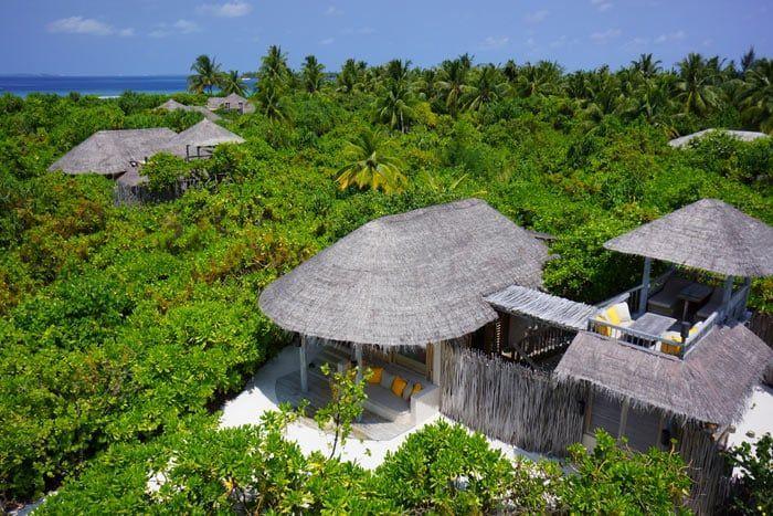 villa plage océan
