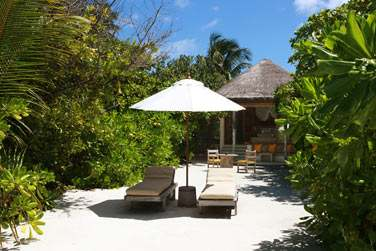 Extérieur de la Beach Villa