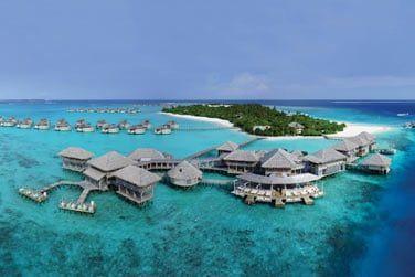 L'unique Resort présent dans l'atoll de Laamu