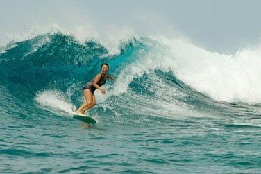 Surfez sur les vagues de l'Océan Indien