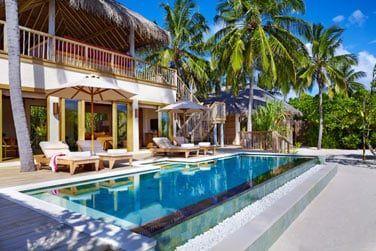 Une villa 2 chambres au style épuré pour des vacances divine en famille