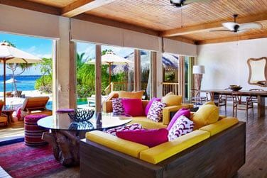 Le salon de la villa 2 chambres