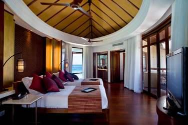 L'une des chambres de la Villa Présidentielle... Espace et confort