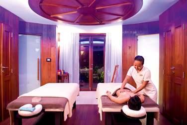 Le pavillon de massage de la Villa Présidentielle pour des soins dans l'intimité de votre villa