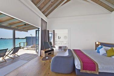 Chambre de la Deluxe Water villa