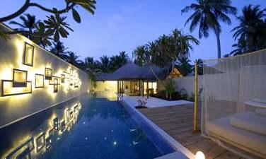 La piscine privée de la Villa Honeymoon, un espace privatif pour une intimité totale