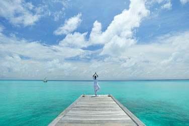 A la carte, des soins balinais, thaï et ayurvédiques... L'hôtel propose également des sessions de yoga