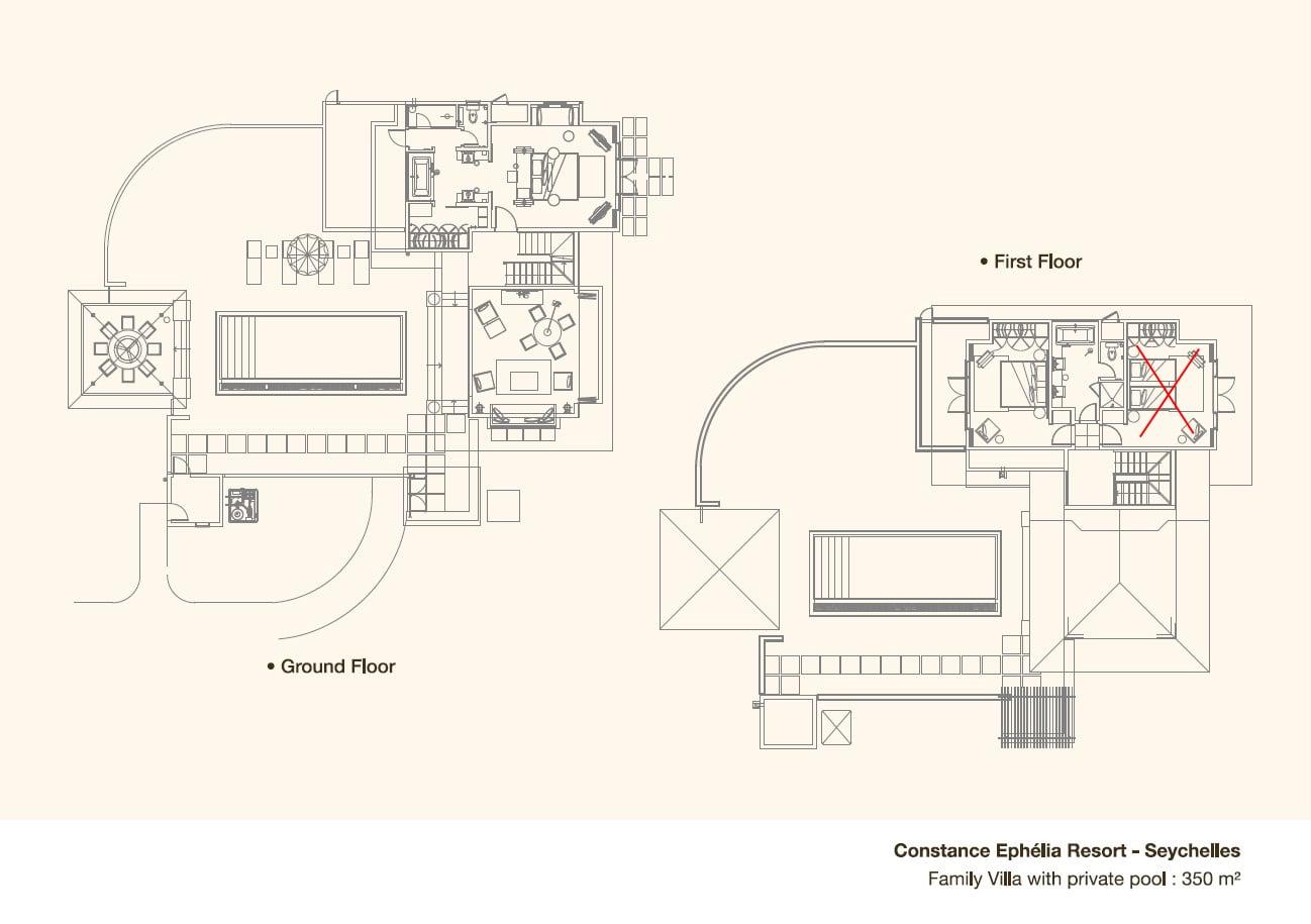 Plan maison architecte avec piscine maison moderne