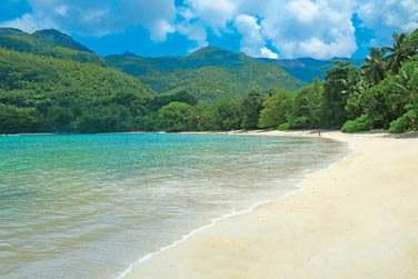 Sur l'île de Mahé