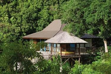 HillTop Ocean Villa et sa situation privilégiée dans les hauteurs