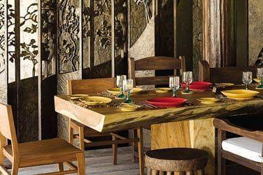 Dégustez une cuisine internationale et créole dans un cadre décontracté