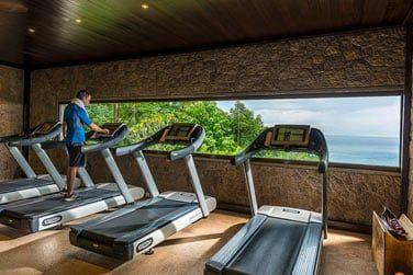 Profitez d'une vue magnifique sur la baie tout en faisant du sport... Motivant !
