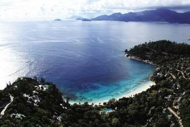 Les suites, villas et résidences de l'hôtel Four Seasons Resort Seychelles