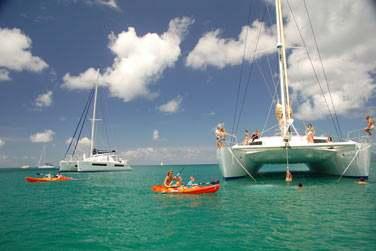 Le Catamaran Mojito 82' est extrêmement spacieux et confortable