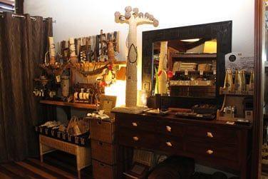 Vous trouverez bijoux et souvenirs de la Réunion à la petite boutique de l'Iloha