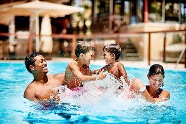 ... ou pour une petite baignade en famille