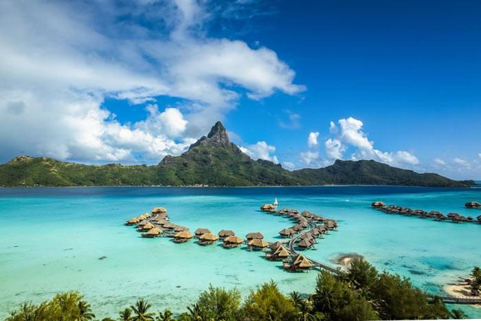 Hôtel Intercontinental Bora Bora Resort & Thalasso Spa 5* Luxe, Polynésie