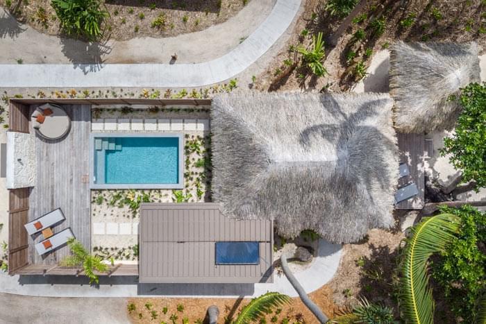 villa plage piscine