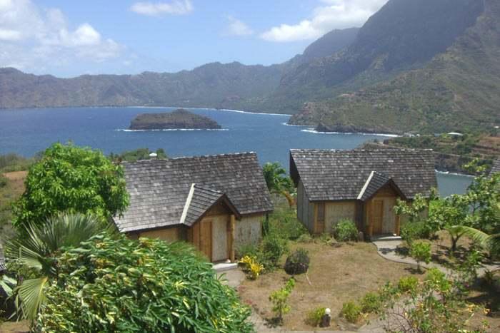 bungalow vue océan