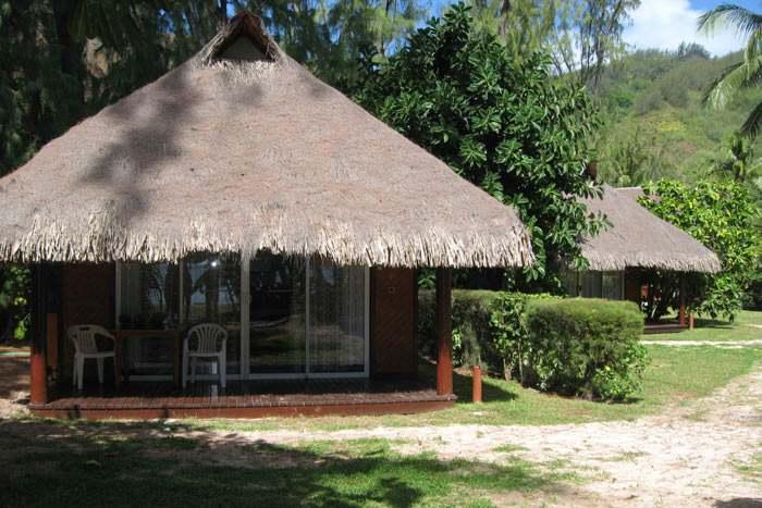 bungalow plage (kitchenette)