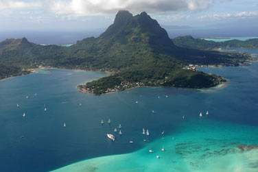 photo Matira Bora Bora Polynésie