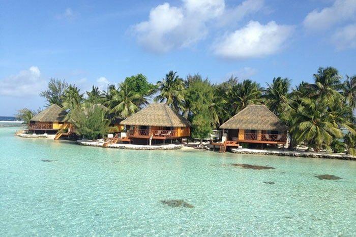 Hôtel La Pirogue Api Tahaa 3*, Polynésie