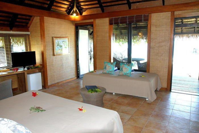 bungalow deluxe vue lagon