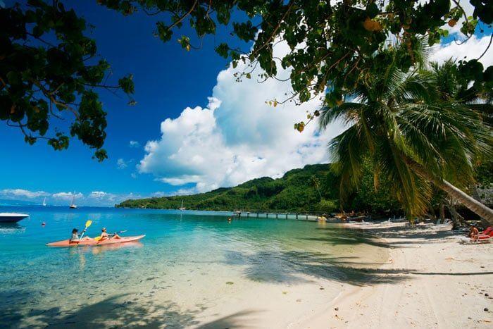 Hôtel Le Mahana Huahine 3*, Polynésie