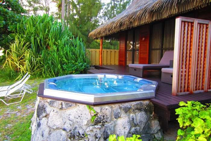 bungalow plage (avec bain à remous)