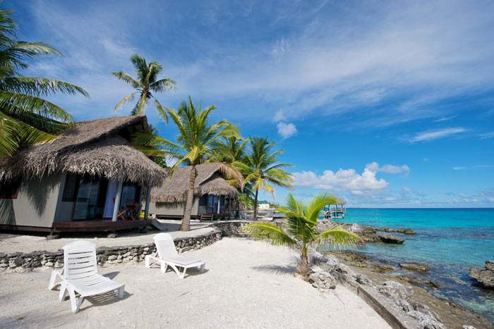 bungalow lagon