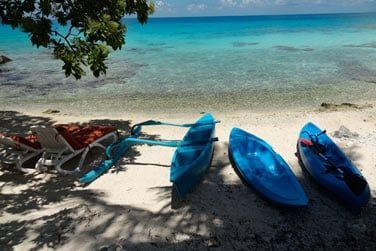 Explorez le lagon en kayaks et pirogues