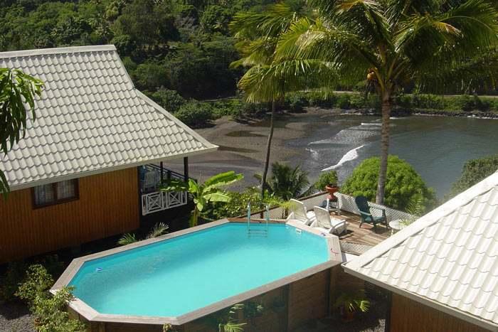 bungalow avec kitchenette & a/c