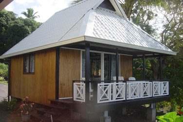 où vous serez logé en bungalow