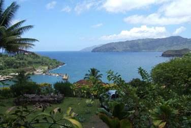 De très beaux points de vue depuis les hauteurs de l'île !