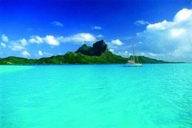 Bora Bora, son lagon turquoise