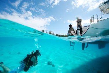 De nombreux loisirs nautiques sont dipsonibles à bord