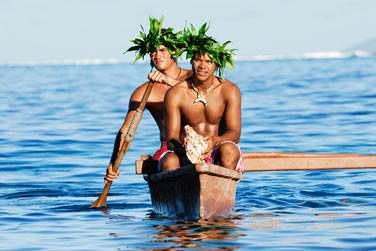 et la rencontre avec les Polynésiens