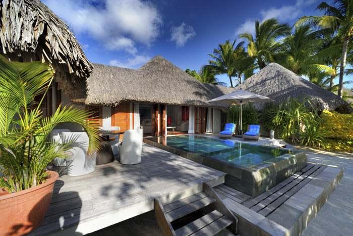 villa plage avec piscine (1 chambre)