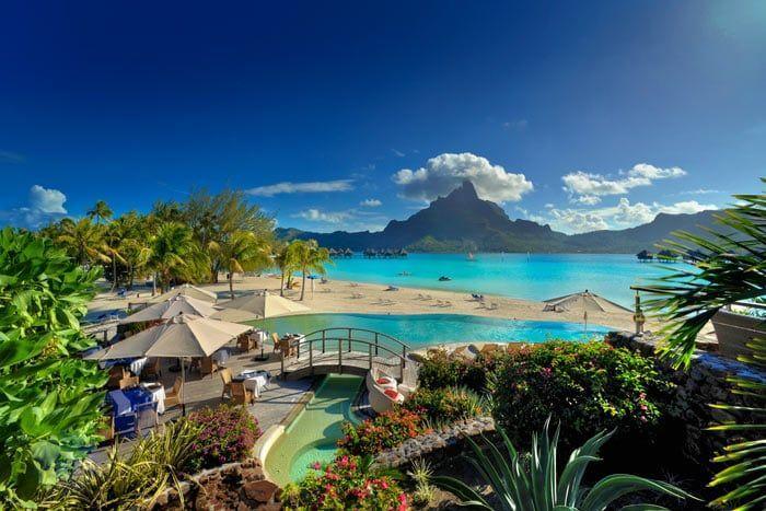 Hôtel Le Méridien Bora Bora 5*, Polynésie