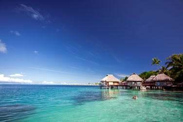 Les bungalows sur pilotis... Un vrai petit paradis sur l'eau