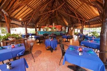 Le restaurant de plage Tamaa pour des déjeuners dans une ambiance décontractée