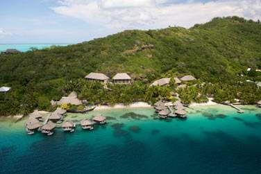 bienvenue à l'hôtel Maitai à Bora Bora