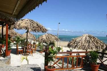 Sur l'une des plus belles plages de l'île