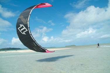 Ou de pratiquer le kitesurf !