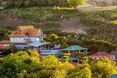 Un superbe boutique-hôtel entouré par la belle nature martiniquaise