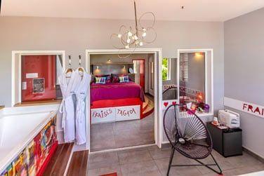 Vous apprécierez le confort de votre suite