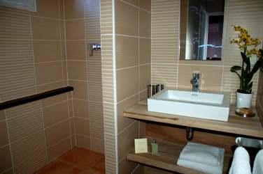 Salle de bain d'une villa