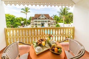 Savourez un bon petit-déjeuner sur votre balcon